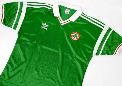 IRELAND HOME EURO 1988 MAGLIA CASA IRLANDA EURO 88