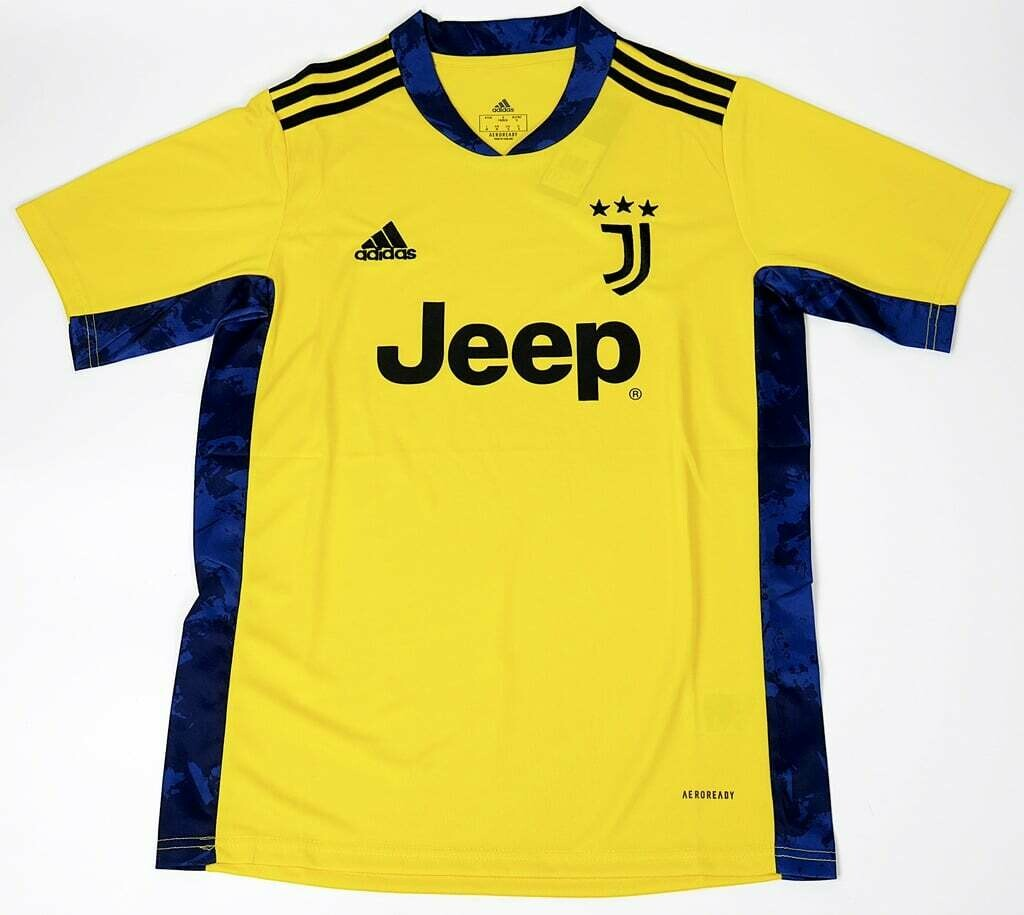 JUVENTUS GOALKEEPER YELLOW 2020 2021 MAGLIA PORTIERE JERSEY GOALKEEPER 20 21