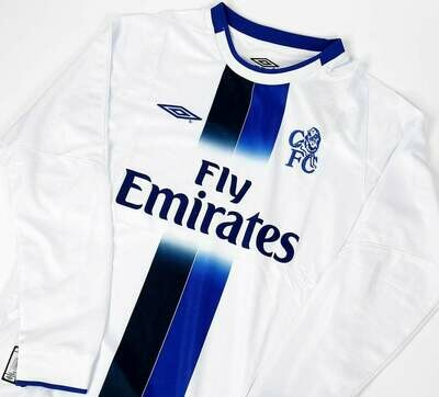 CHELSEA MAGLIA TRASFERTA JERSEY AWAY 2020 2021 MANICHE LUNGHE LONG SLEEVES