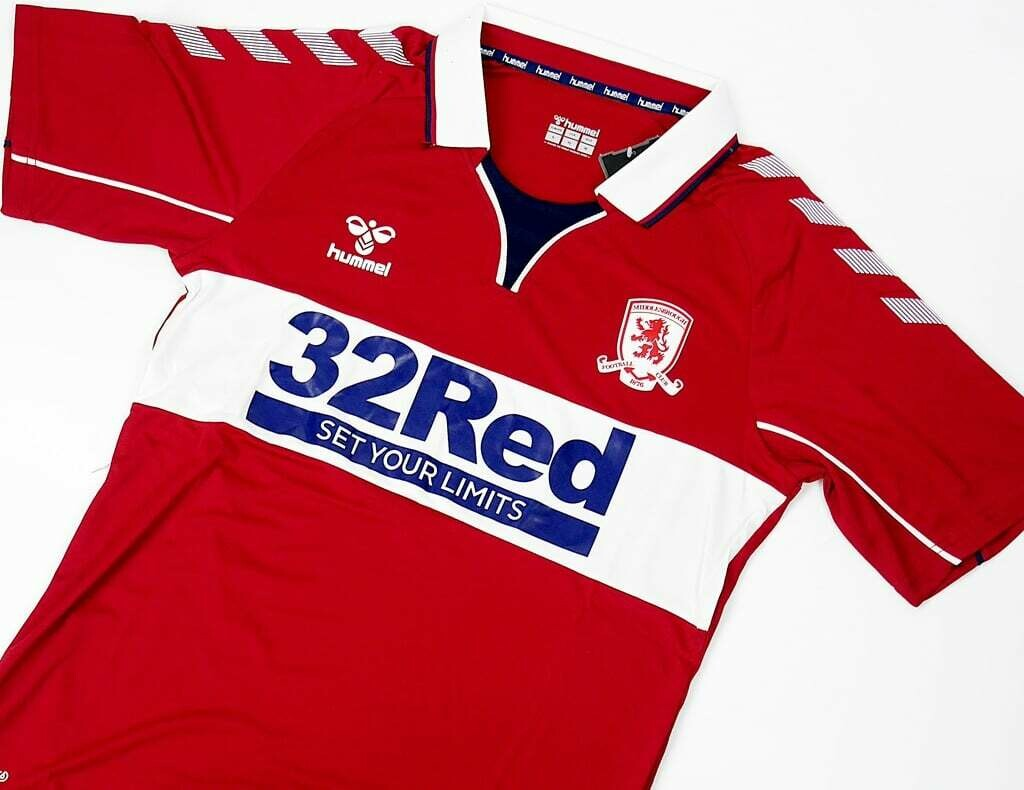 MIDDLESBROUGH MAGLIA TRASFERTA JERSEY AWAY  2020 2021