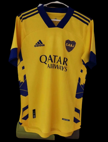 BOCA JUNIORS AWAY 2020-2021 MAGLIA TRASFERTA 20 21 PLAYER VERSION