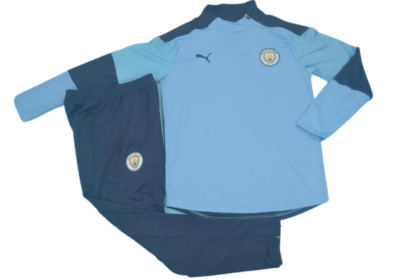MANCHESTER CITY  2020 2021 Tracksuit Tuta  MAN CITY 2020 2021