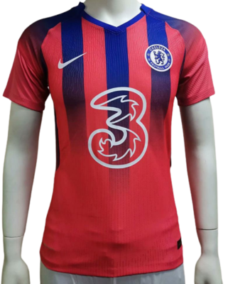 CHELSEA JERSEY PINK 2020 2021  MAGLIA ROSA 2020 2021 PLAYER VERSION