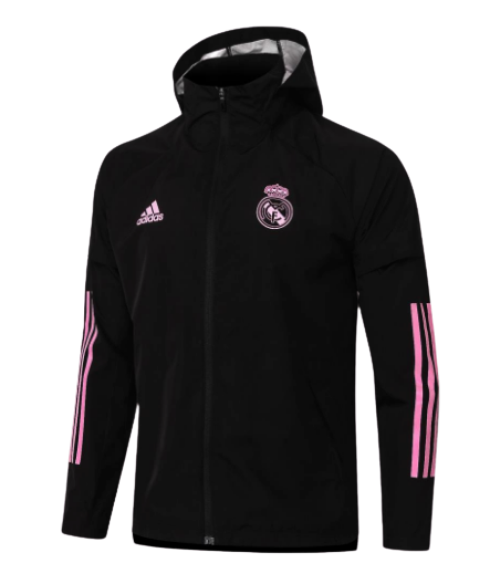 REAL MADRID GIACCA WIND COAT  2020 2021 REAL MADRID
