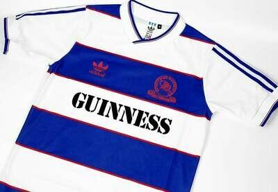 QPR QUEEN PARK RANGERS HOME 1983-1984 MAGLIA CASA 83 84