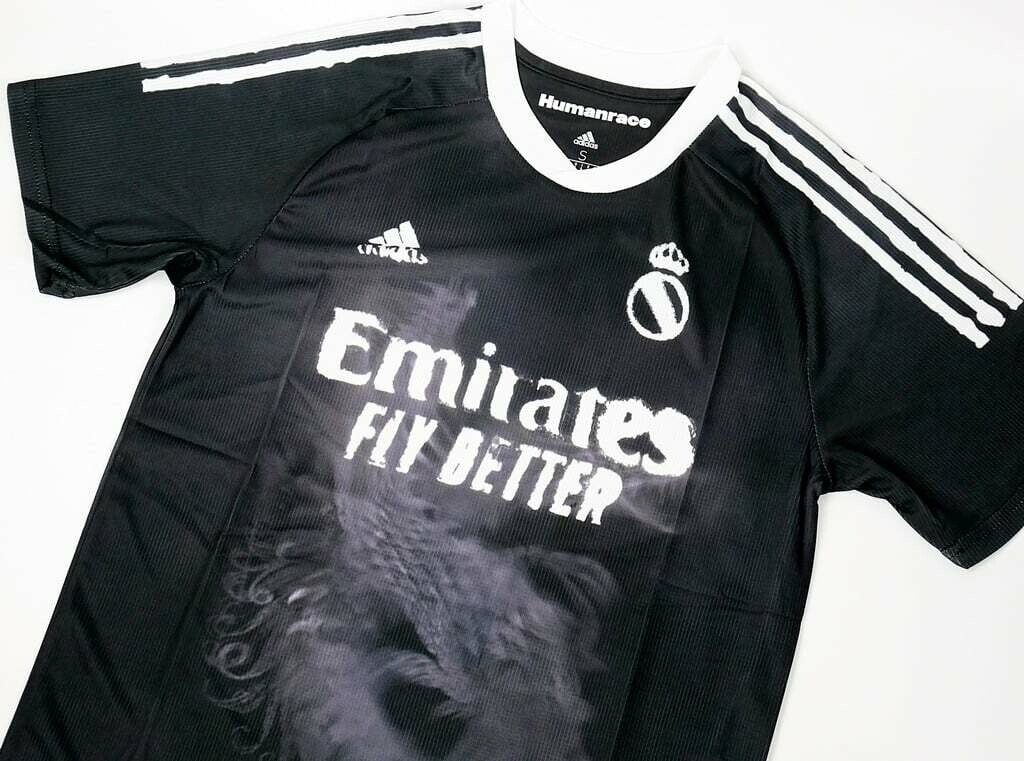 REAL MADRID HUMAN RACE JERSEY BLACK 2020 2021