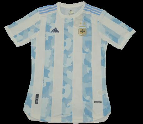 ARGENTINA MAGLIA CASA EURO 2020 ARGENTINA MAGLIA JERSEY HOME 2020 PLAYER  VERSION