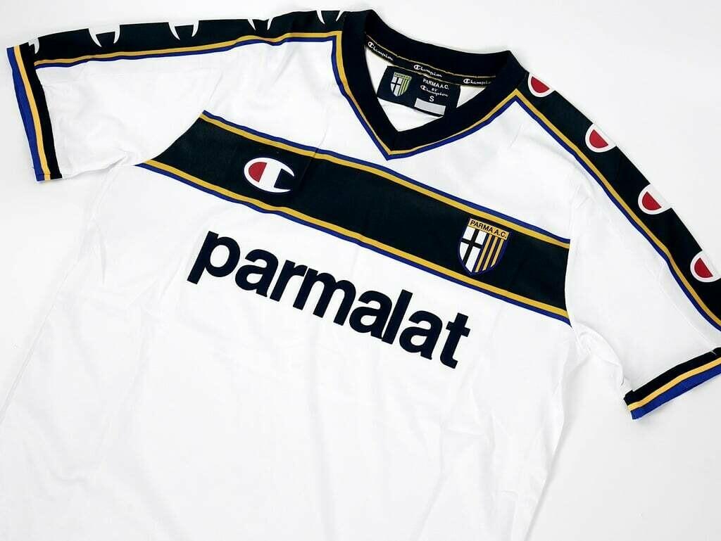 PARMA JERSEY AWAY  2002-2003 MAGLIA TRASFERTA 2002 2003