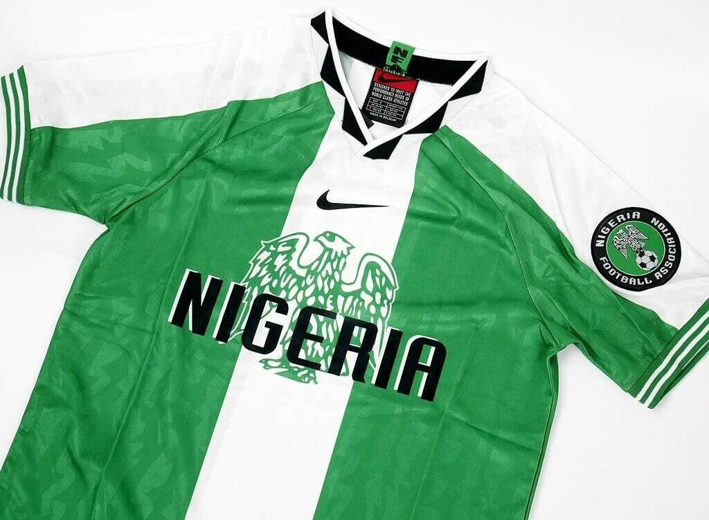 NIGERIA HOME OLYMPIC 1996 MAGLIA CASA 96 OLIMPIADE NIGERIA