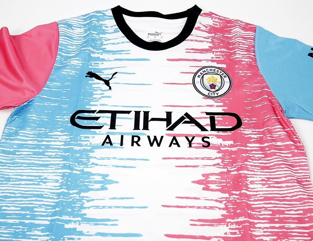 MAN CITY SPECIAL KIT DESIGN BY LUCY A KIT CONTEST WINNER MAGLIA SPECIALE