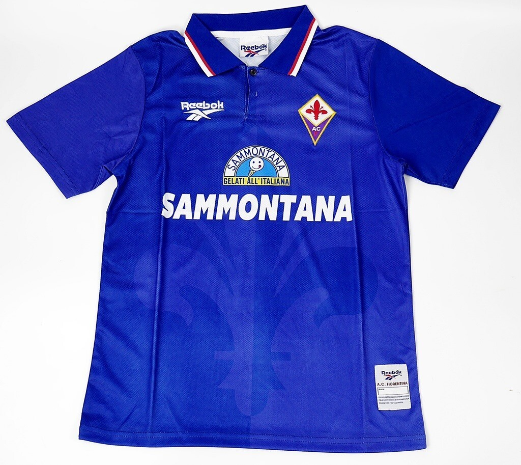 FIORENTINA HOME 1995-1996 MAGLIA CASA FIORENTINA 95 96