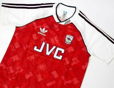 ARSENAL HOME 1990-1991 WINNERS DIVISON 1 ARSENAL MAGLIA CASA 90 91
