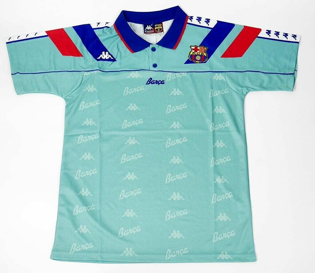 BARCELONA AWAY 1993-1994 MAGLIA TRASFERTA 93 94