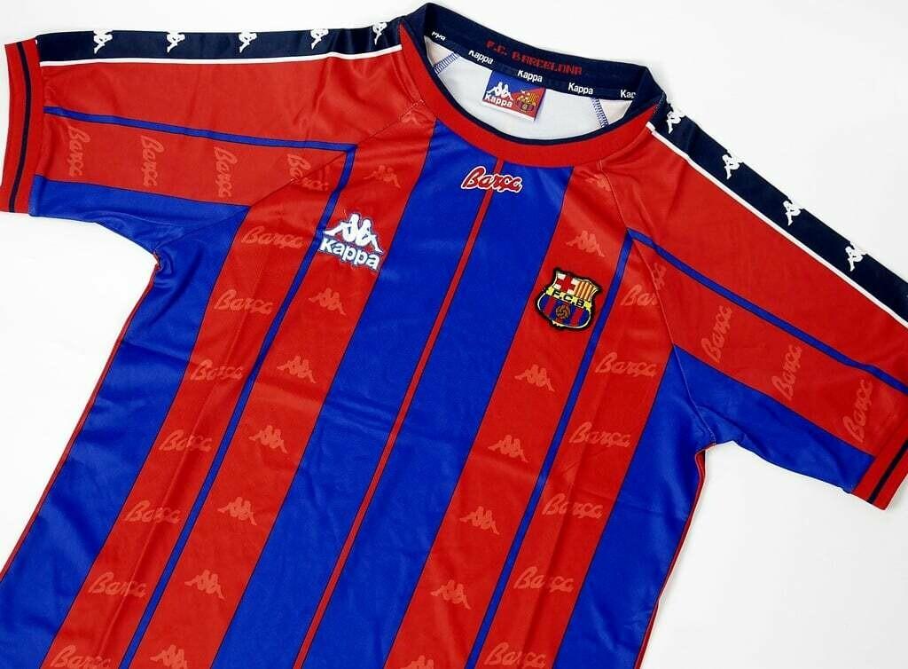 BARCELONA HOME 1997-1998 MAGLIA CASA 97 98