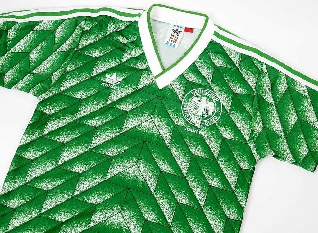 GERMANY AWAY WC 1990 MAGLIA WORLD CUP 90 TRASFERTA GERMANIA