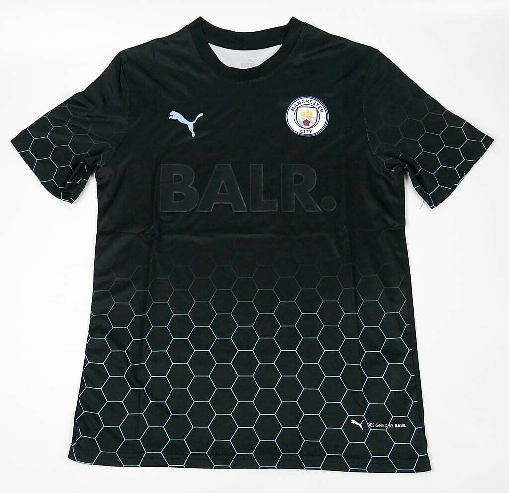MAN CITY X BALR BLACK SPECIAL 2021 KIT MAGLIA SPECIALE BALR