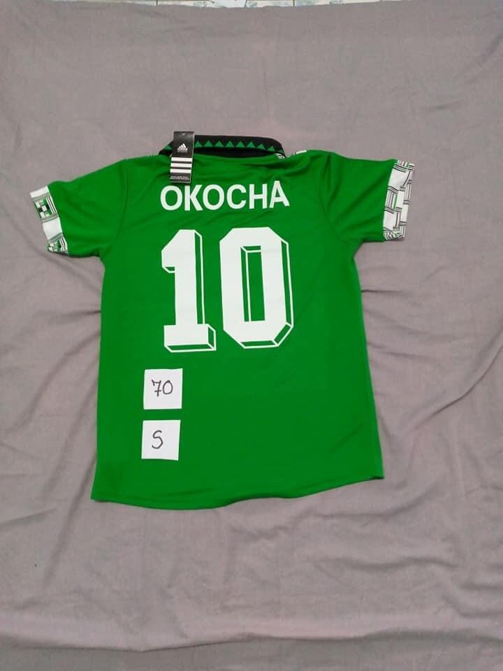 NIGERIA MAGLIA CASA JERSEY HOME OKOCHA TAGLIA S SIZE S