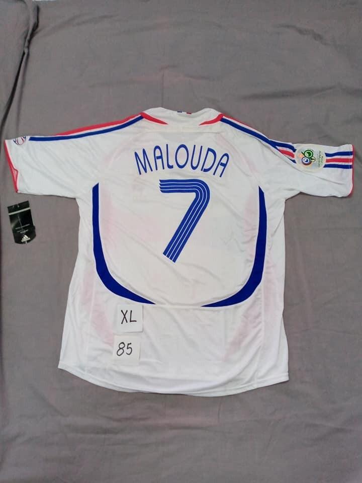 FRANCE FRANCIA WORLD CUP 2006 MALOUDA TAGLIA XL SIZE XL