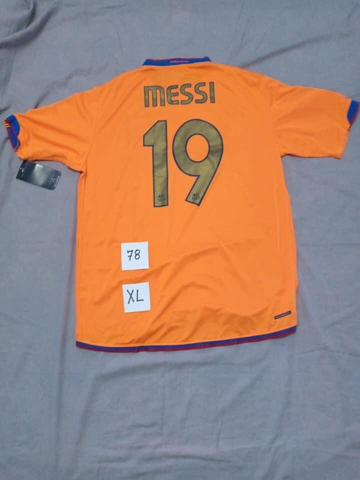 Barcelona 2006 2007 Lionel Messi 19 Taglia XL Size XL