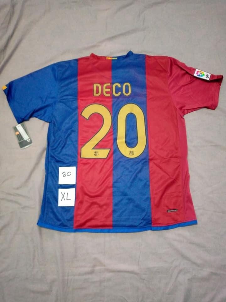 BARCELONA 2006 2007 HOME JERSEY CASA MAGLIA DECO 20 TAGLIA XL SIZE XL