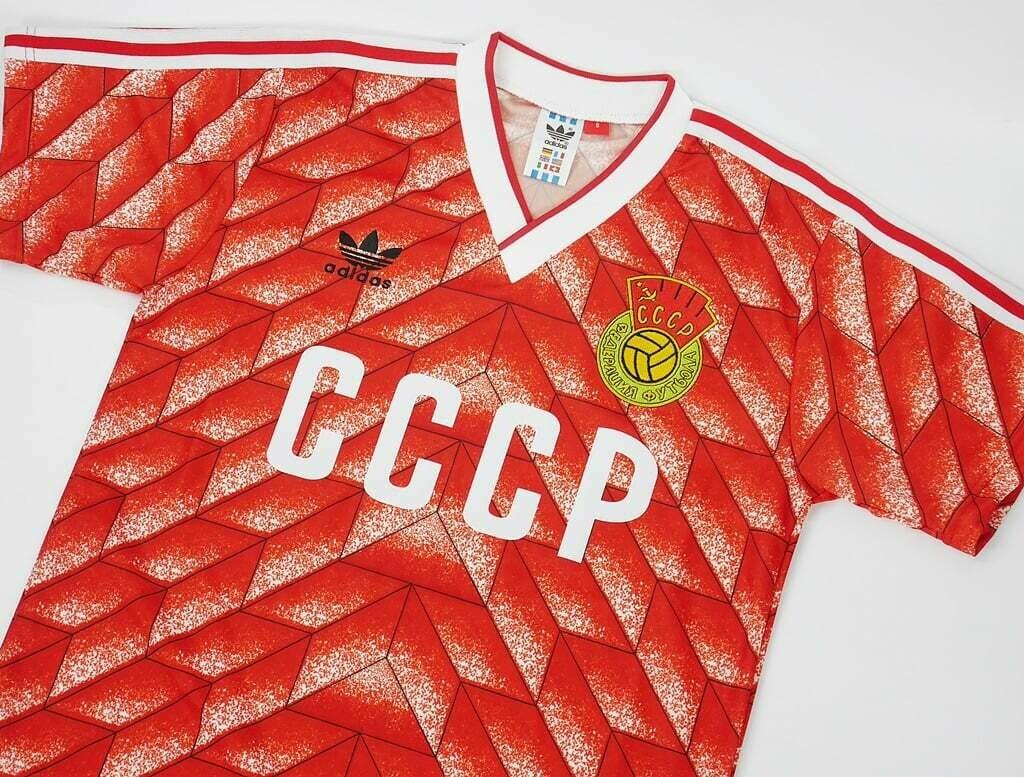 URSS SOVIET HOME 1988 MAGLIA CASA 88 URSS