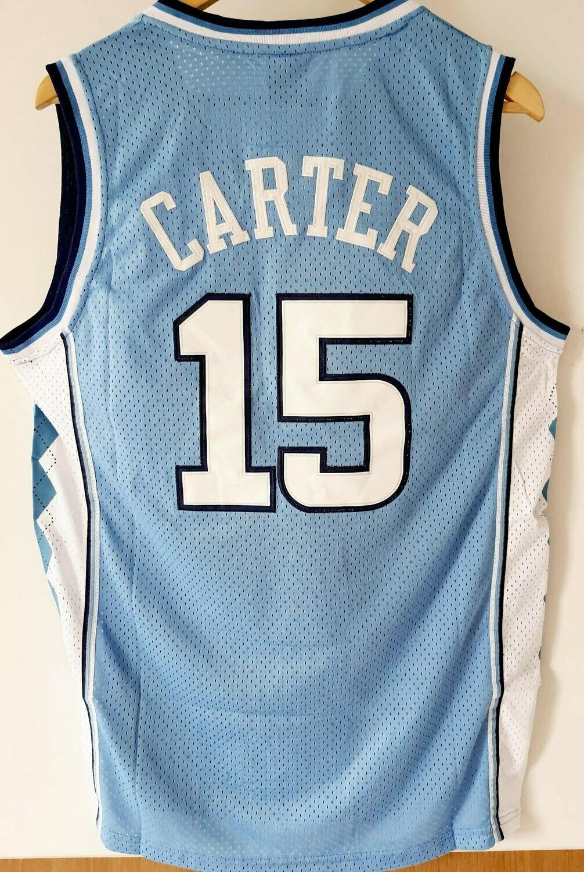 NBA NORTH CAROLINA JERSEY MAGLIA CARTER 15