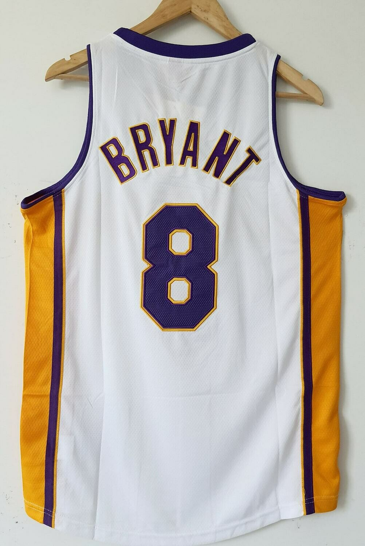 NBA LOS ANGELES LAKERS  JERSEY MAGLIA LAKERS KOBE BRYANT 8