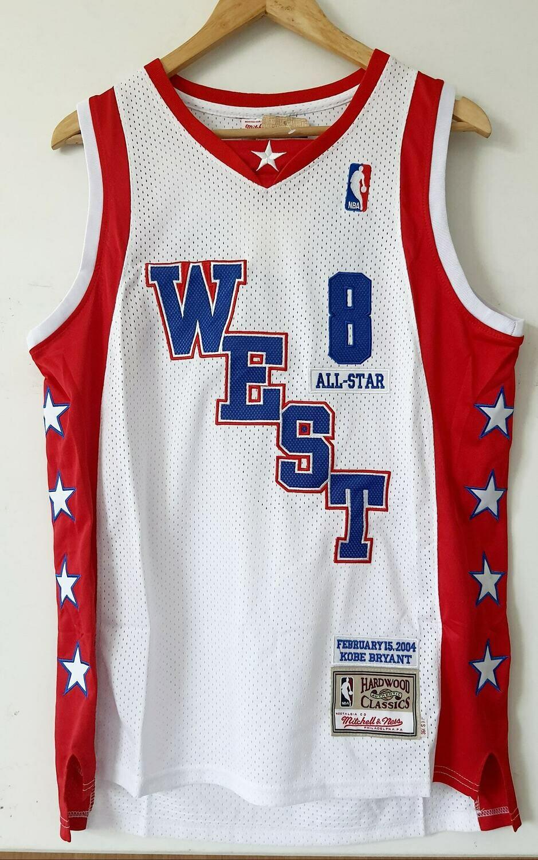 NBA KOBE BRYANT ALL STARS  JERSEY MAGLIA