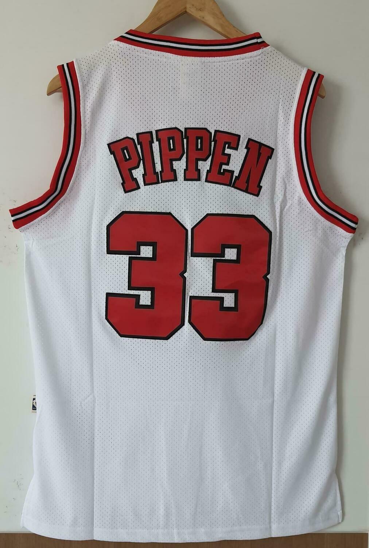 NBA BULLS CHICAGO  PIPPEN 33 JERSEY MAGLIA