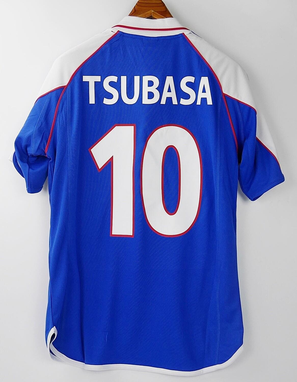 10 TSUBASA JAPAN HOME 2000 MAGLIA CASA JERSEY HOME GIAPPONE 2000