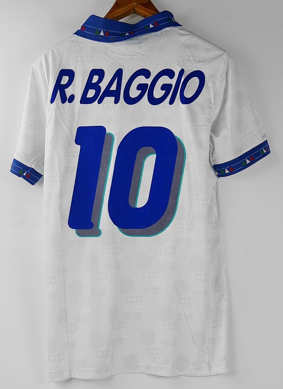ITALIA WORLD CUP 1994 MAGLIA TRASFERTA JERSEY AWAY 94 WORLD CUP BAGGIO 10