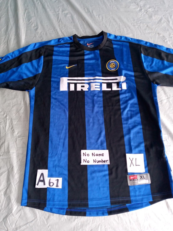 A61  INTER MAGLIA CASA JERSEY HOME TAGLIA XL SIZE XL
