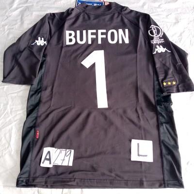 A279 ITALIA ITALY WORLD CUP 2002 BUFFON 1 TAGLIA L SIZE L  MAGLIA CASA JERSEY HOME ITALIA
