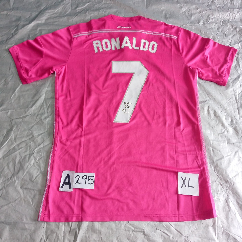 A295  REAL MADRID MAGLIA TRASFERTA JERSEY AWAY CRISTIANO RONALDO CR7 TAGLIA XL SIZE XL
