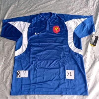R3 Retro Francia RUGBY Maglia Jersey Shirt Rugby France XL