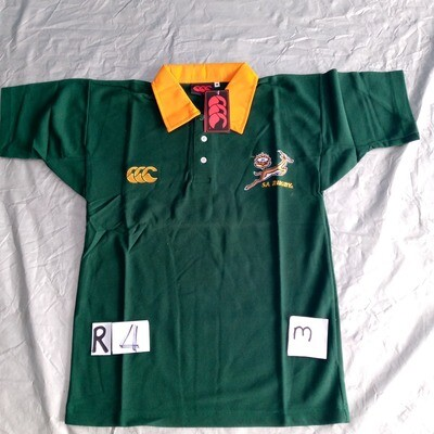 R4 Retro South Africa RUGBY  Maglia Jersey Shirt Rugby SUDAFRICA XL