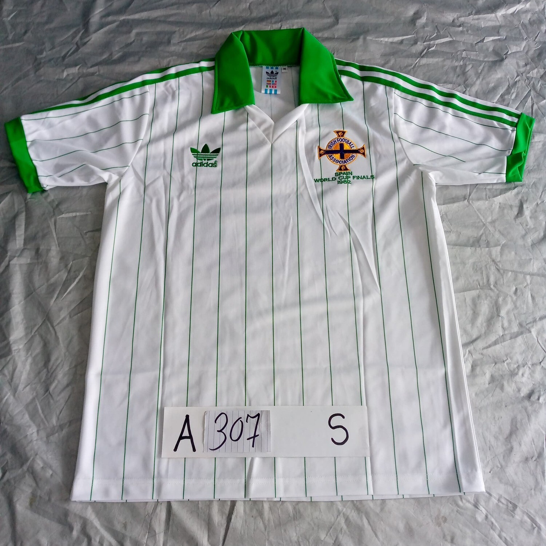 A307 IRLANDA COPPA DEL MONDO 1982 WORLD CUP 1982 IRISH MAGLIA JERSEY TAGLIA S SIZE S #16