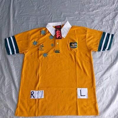 R17 AUSTRALIA Rugby Maglia Jersey Shirt Rugby AUSTRALIA TAGLIA L SIZE L