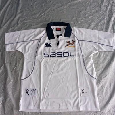 R21 Sudafrica  Rugby Maglia Jersey Shirt Rugby SUDAFRICA TAGLIA XL SIZE XL