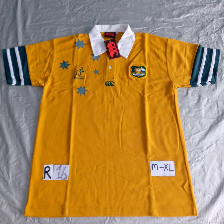R16 AUSTRALIA Rugby Maglia Jersey Shirt Rugby AUSTRALIA TAGLIA XL SIZE XL