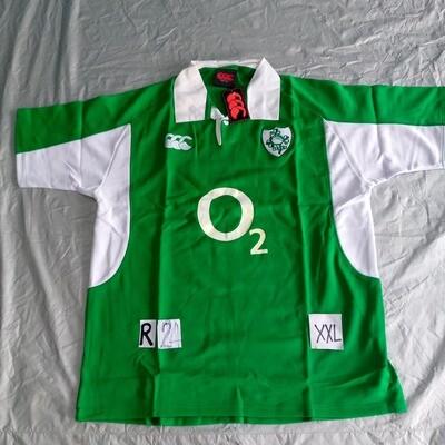 R24 IRLANDA  Rugby Maglia Jersey Shirt Rugby IRELAND TAGLIA XXL SIZE XXL
