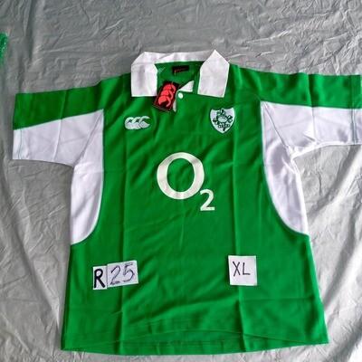 R25 IRLANDA  Rugby Maglia Jersey Shirt Rugby IRELAND TAGLIA XL SIZE XL
