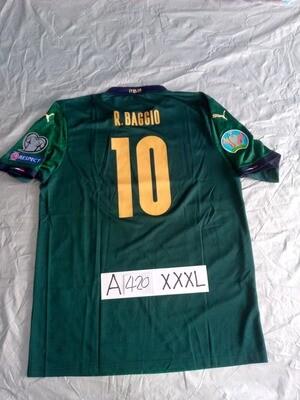 A420 ITALIA  MAGLIA TRASFERTA JERSEY AWAY BAGGIO 10 TAGLIA 3XL SIZE 3XL