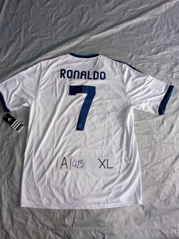A415  REAL MADRID MAGLIA TRASFERTA JERSEY AWAY CRISTIANO RONALDO CR7 TAGLIA XL SIZE XL