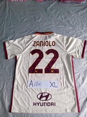 A450 ROMA MAGLIA CASA JERSEY HOME ZANIOLO 22 TAGLIA XL SIZE XL
