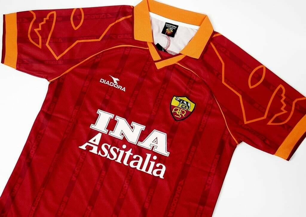 ROMA MAGLIA CASA JERSEY  HOME1999-2000