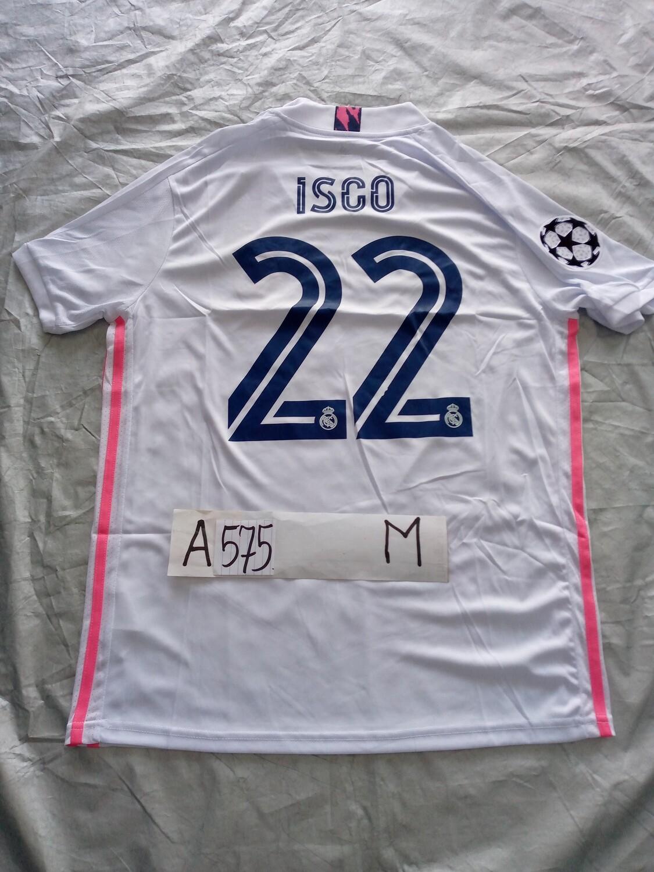 575  REAL MADRID MAGLIA CASA JERSEY HOME ISCO 22 TAGLIA M SIZE M