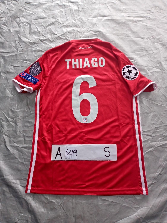 649 BAYER MUNICH BAYER MONACO THIAGO 6 FINALE CHAMPIONS LEAGUE TAGLIA S SIZE S
