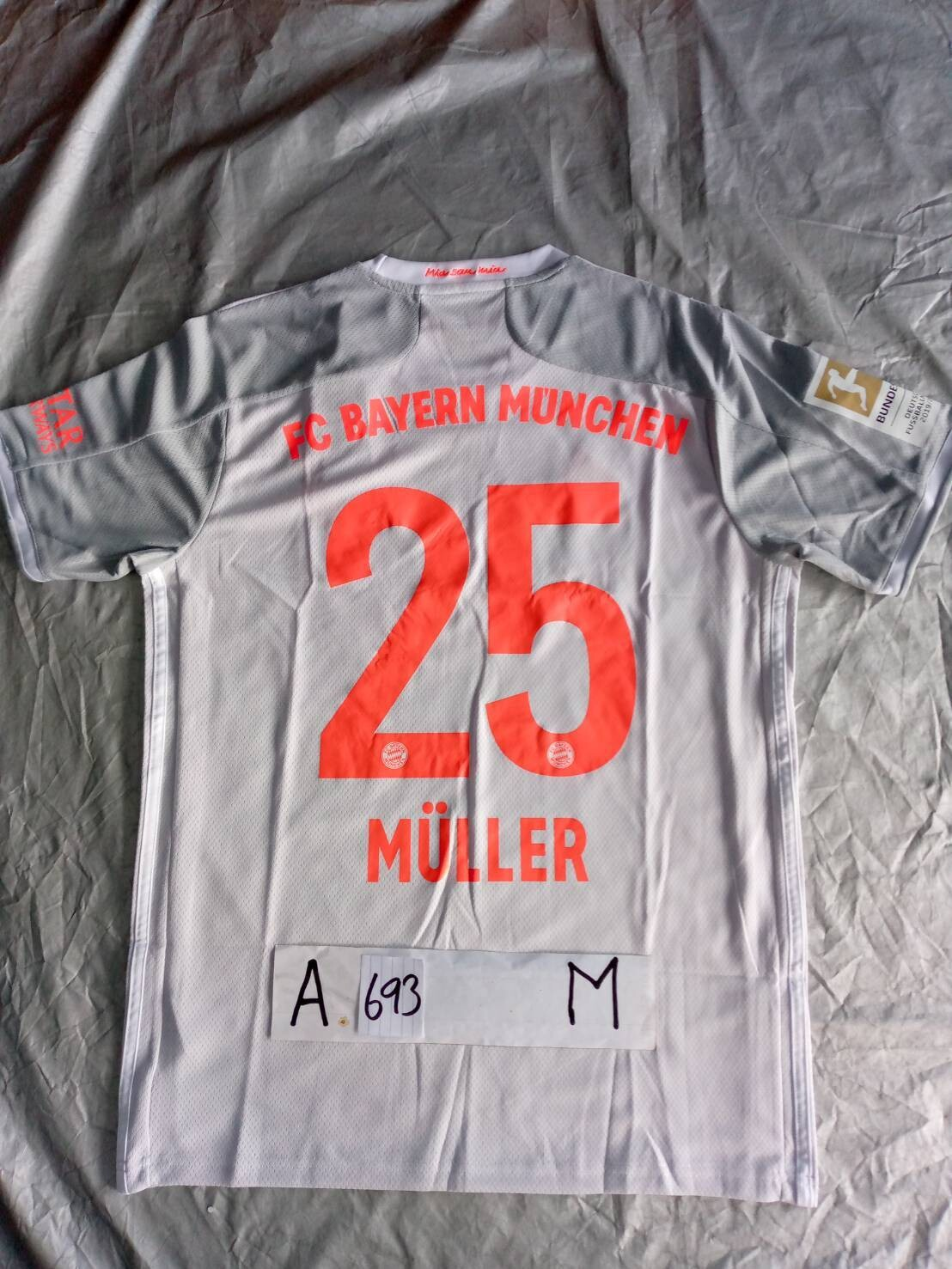693  BAYER MUNICH BAYER MONACO MULLER 25 TAGLIA  M SIZE M