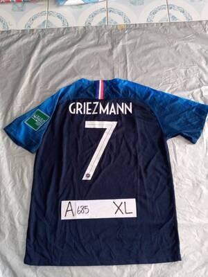 685 FRANCIA FRANCE GRIEZMANN 7 TAGLIA XL SIZE XL